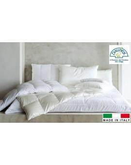 Offerte pazze Comparatore prezzi  100 Piumino Oca Bianco Dal Trentino Made In Italy Letto Singolo Piume  il miglior prezzo
