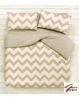 Personalizza la casa scegliendo tra lenzuola teli abbinandoli MADE in italy beige