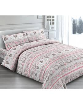 Dai un tocco di romanticismo alla tua stanza con lenzuola Love Cuori Made in Italy