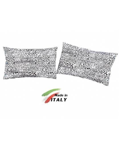 Lenzuola copripiumino sexi con bianco e nero misure maxi made in Italy