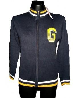 Maglione con cerniera Guru bambino cotone e lana golfino maglioncino IDEA REGLO