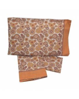 Completo lenzuola letto matrimoniale Puro cotone 100% tipo Desigual