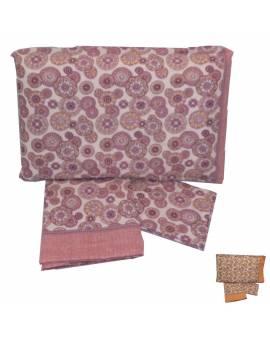 Completo lenzuola letto una piazza Puro cotone 100% Stock tipo Desigual