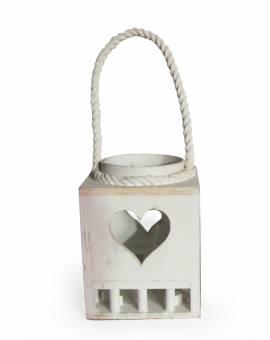 Lanterna Portacandele Diffusore per ambiente Cuore decorazione casa giardino