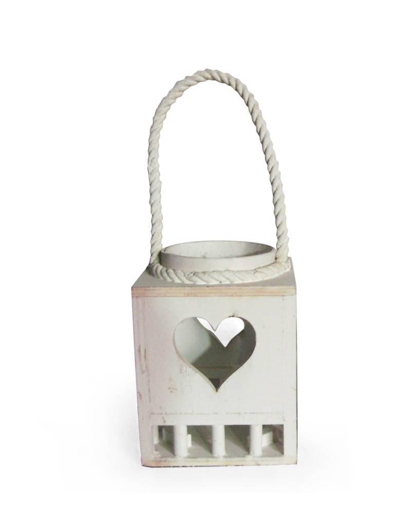 Portacandele in legno vetro e corda per arredare case e for Decorazione giardino per battesimo