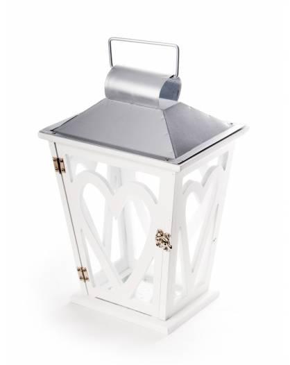 Lanterna natale porta candela cero addobbo decorazione arredamento casa giardino Love
