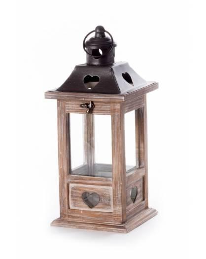 Lanterna natale porta candela Braies arredamento decorazione addobbo casa