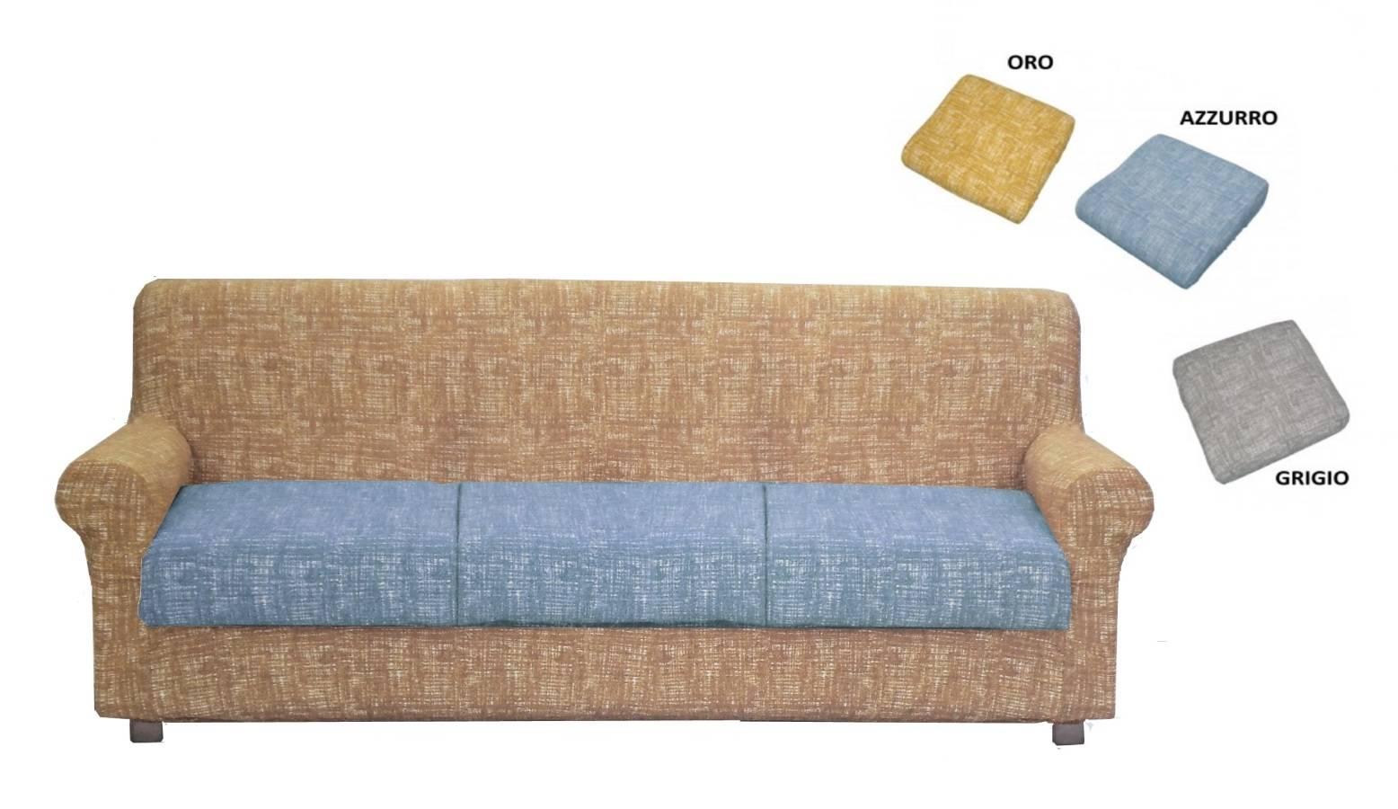 Copridivano Elasticizzato copriseuta anche divani relax schienale reclinabile