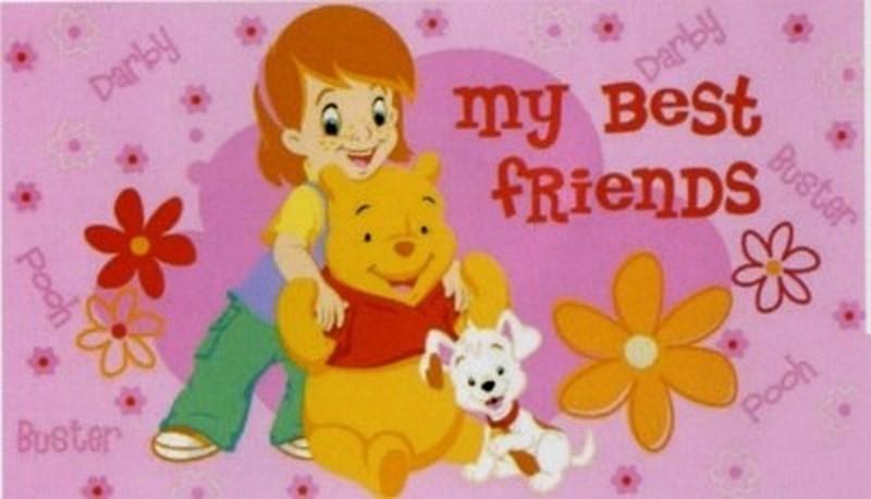 Tappeto Disney Anti Scivolo Winnie Pooh Amici Cm 50x80 Affare Biancher