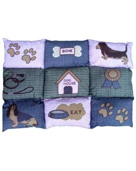 Tappeto Cuscino Antiscivolo Imbottito per Animali Cani Gatti