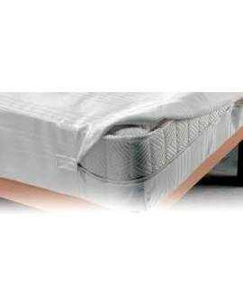 FODERA copri salva materasso letto piazza e mezza cerniera linea sanitaria