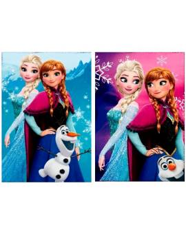 Coperta Plaid in Pile Bambina Disney Frozen 100x150cm