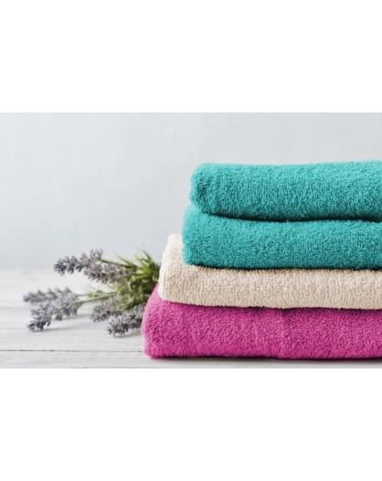 Telo bagno doccia salvietta spugna 100% cotone tinta unita colorata