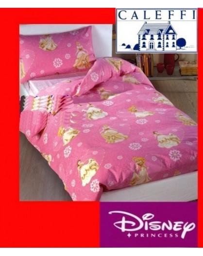 Copripiumino letto singolo una piazza 150x200 CALEFFI Walt Disney Principesse