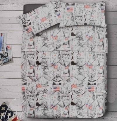 Offerte pazze Comparatore prezzi  Parure Copripiumino 100 Cotone Zambaiti Miami Beach Usa Stati Uniti Fl  il miglior prezzo