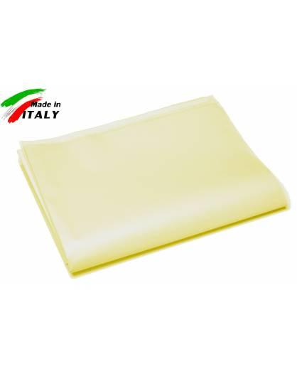 Lenzuolo Sopra Piano Baby per Lettino Made in Italy cotone GIALLO