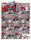 Lenzuolo Angolo con Elastici Matrimoniale Lenzuolo Made in Italy Cotone LONDRA
