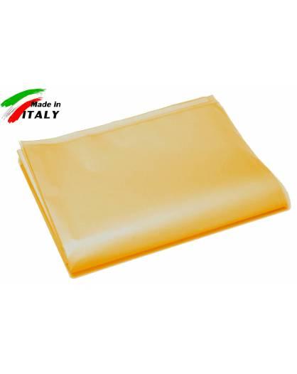 Lenzuolo Sopra Piano Matrimoniale Maxi Made in Italy Puro Cotone di Percalle OCRA