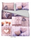 Copripuimino per letto matrimoniale sacco piumino 2 piazze disegni paesaggi