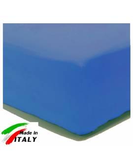 Lenzuolo Angolo con Elastici Una Piazza e Mezza Made in Italy Percalle di Cotone AVIO