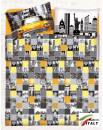 Lenzuolo Sopra Piano Una Piazza e Mezza Prodotto in Italia Cotone NEW-YORK