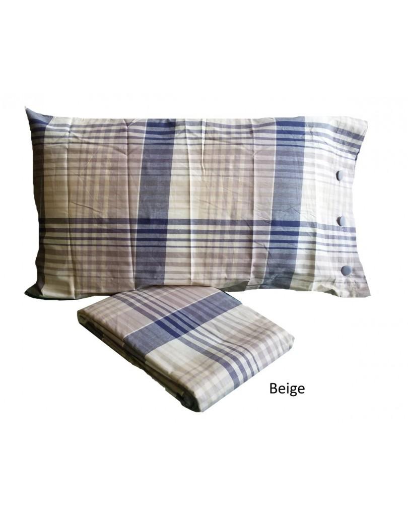 Completo lenzuola matrimoniale scozzese multicolore - Completi per letto matrimoniale ...