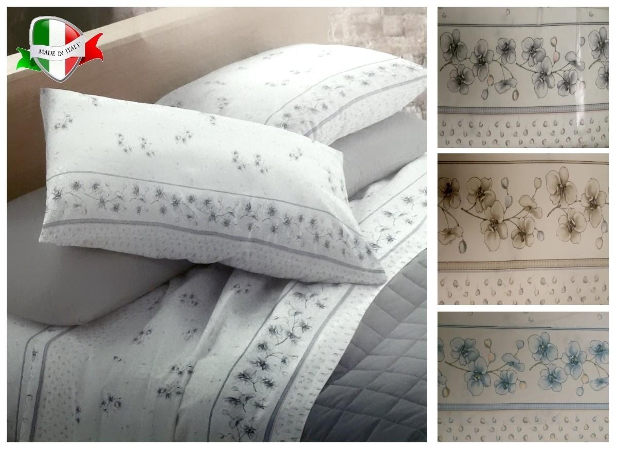 Completi lenzuola matrimoniali FLANELLA Made in Italy