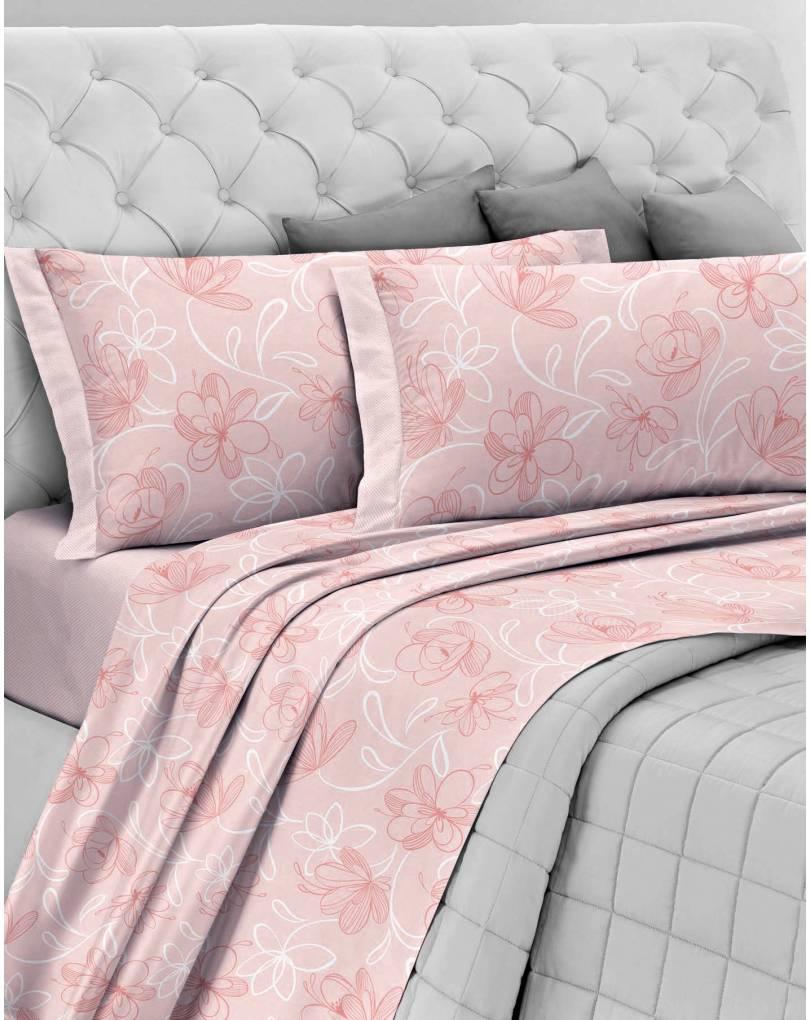 Completo lenzuola di flanella letto matrimoniale antipilling cotone - Completo letto matrimoniale ...