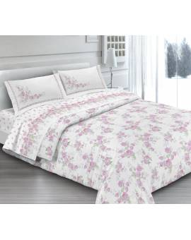 Una Piazza in Piquet Cotone Made in Italy CLOE-ROSA