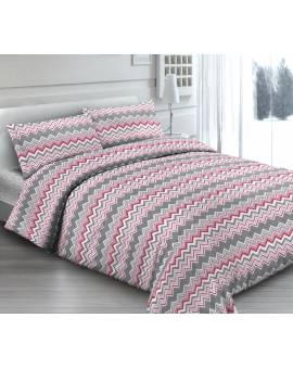 Una Piazza in Piquet Cotone Made in Italy MAREA-ROSA